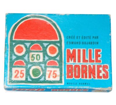 1000 Bornes jeu ancien édition vintage