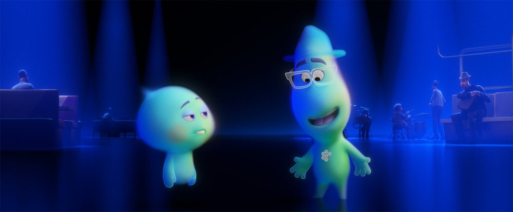 22 et Joe dans Soul (Disney-Pixar)