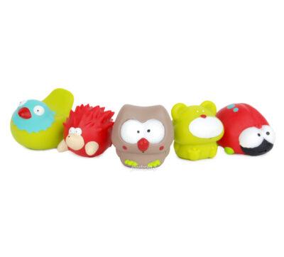 5 jouets arroseurs animaux (bain bébé)
