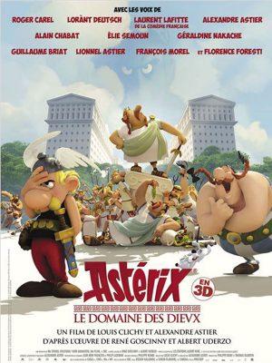 Asterix Le domaine des Dieux (affiche)