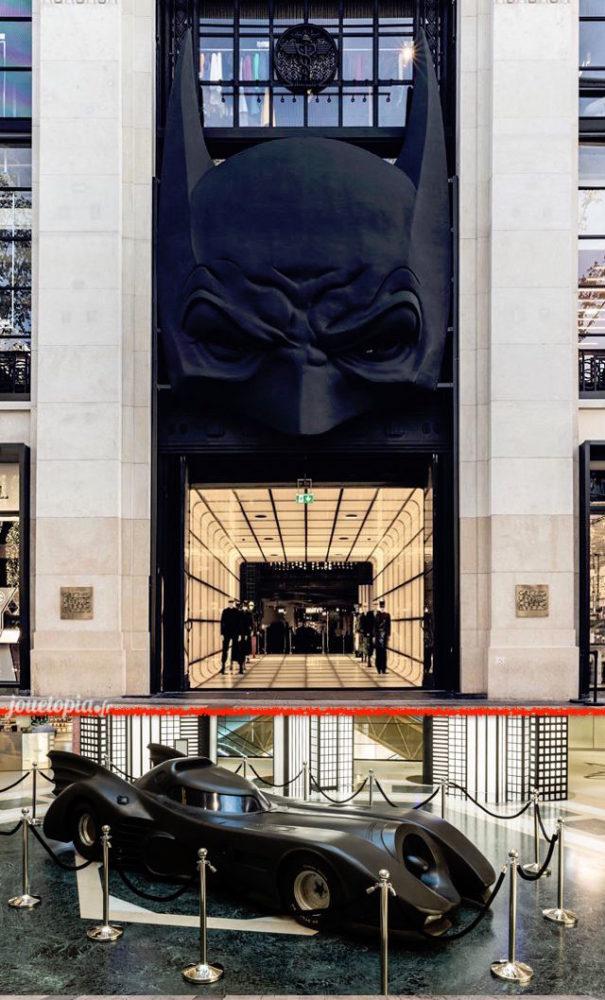 Batman aux Galeries Lafayette à Paris