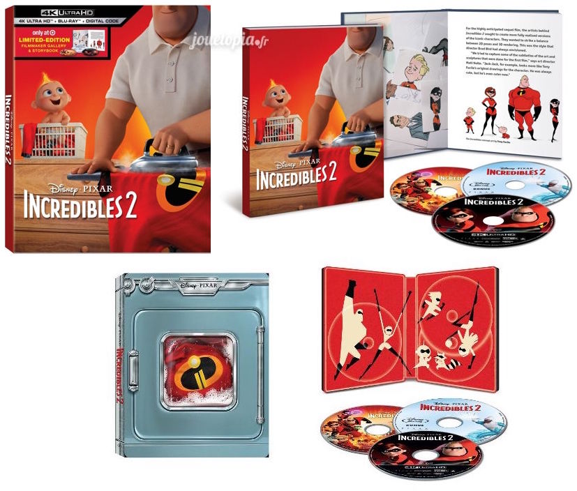 Blu-Ray Collector 4K The Incredibles 2 (USA)