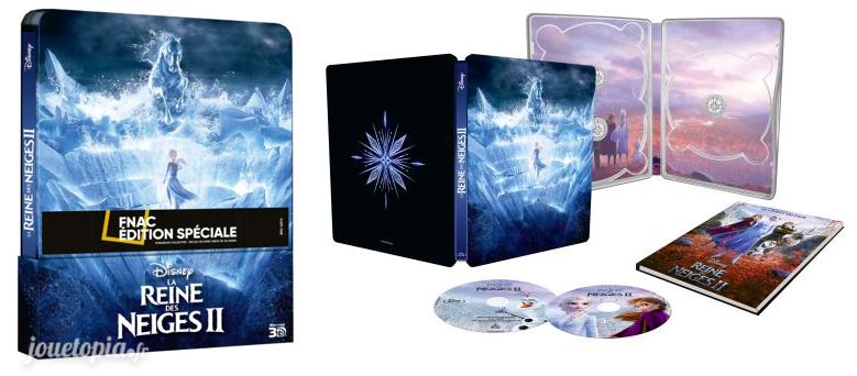 BluRay La Reine des Neiges 2 édition spéciale Fnac