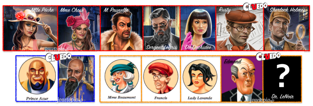 Cluedo : Personnages additionnels