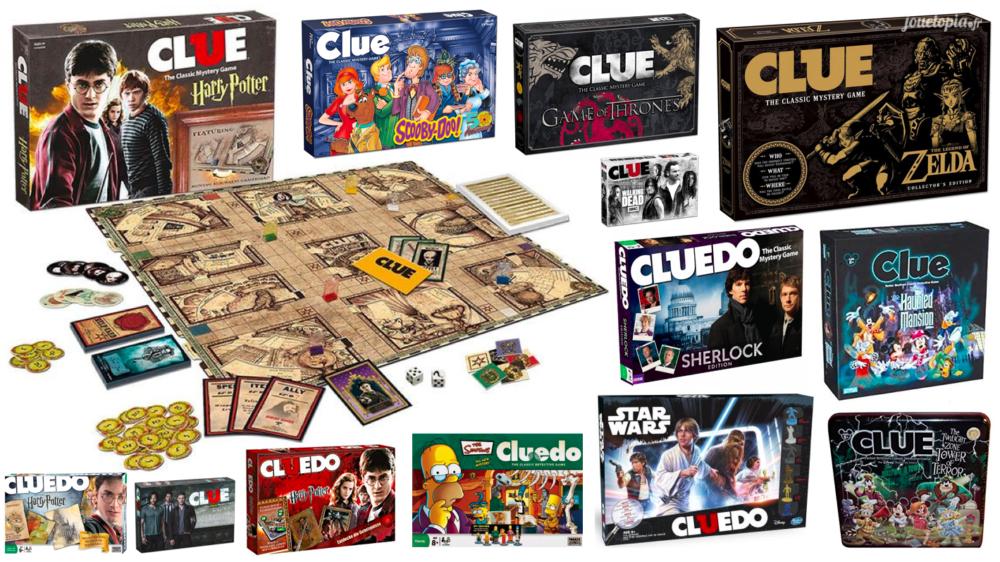 Editions Spéciales du Cluedo