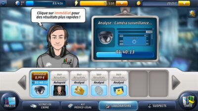 Criminal Case : analyse d'indices
