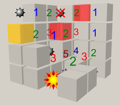 Cube Minesweeper 3D