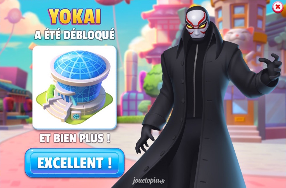 YoKai dans Disney Magic Kingdoms