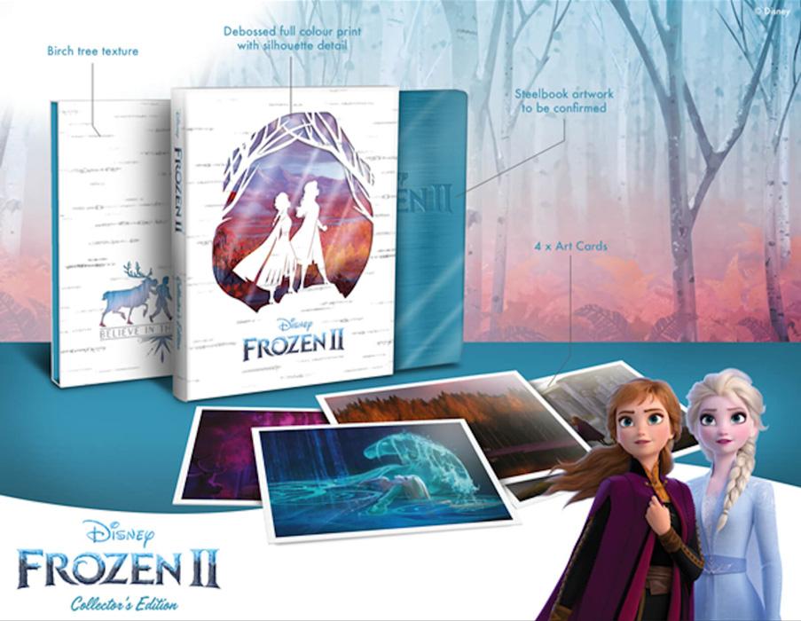 BluRay Collector Frozen 2 Zavvi Eclusive Edition