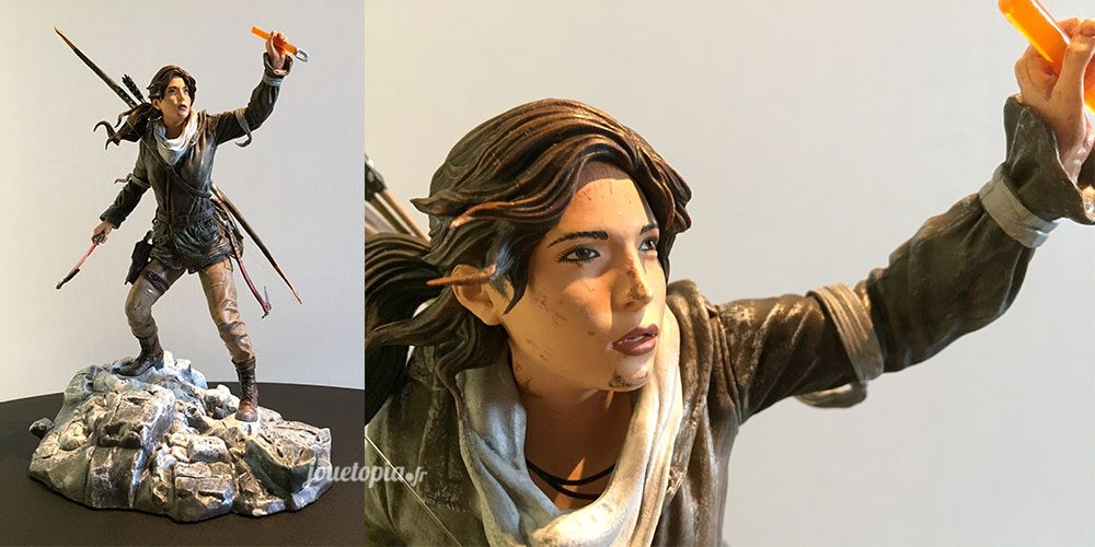 Figurine de Lara Croft (Rise of Tomb Raider)