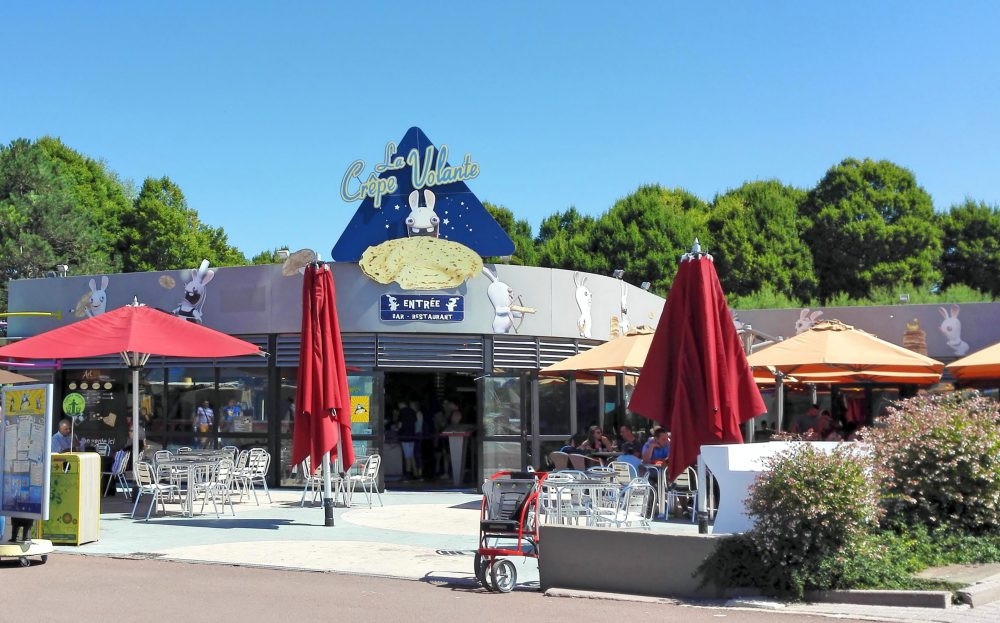 Futuroscope : Restaurant La Crêpe Volante