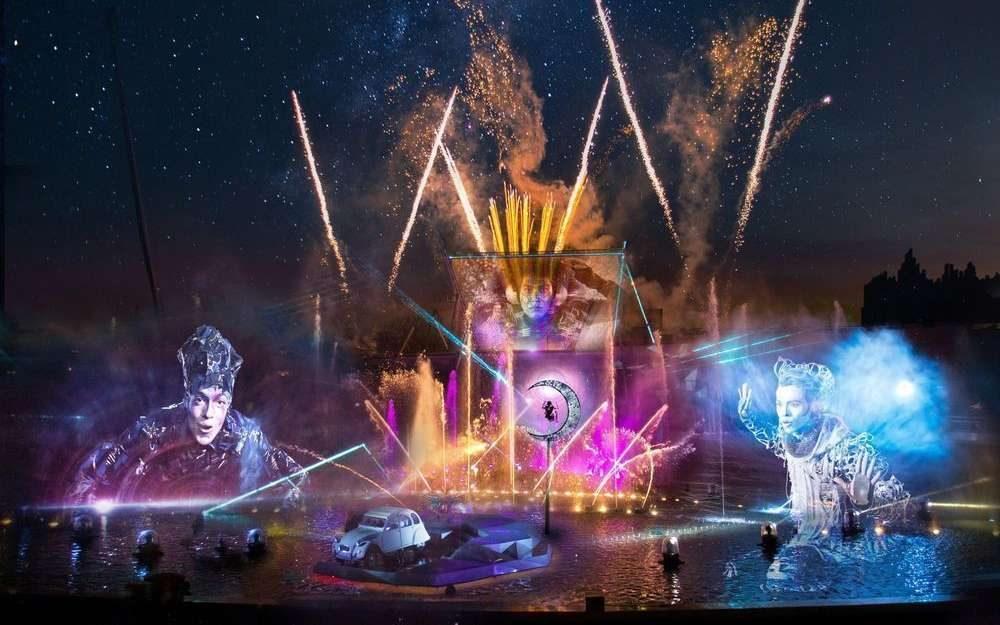 Futuroscope Spectacle Nocturne par le Cirque du Soleil
