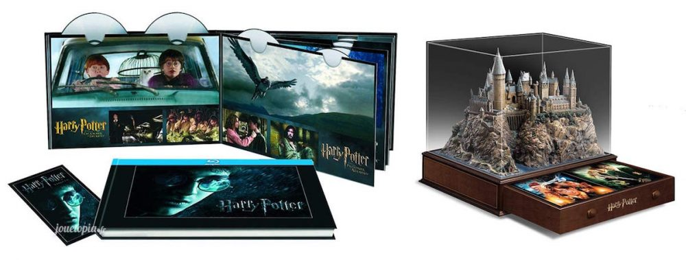 2 éditions BluRay / DVD Harry Potter - 6 films