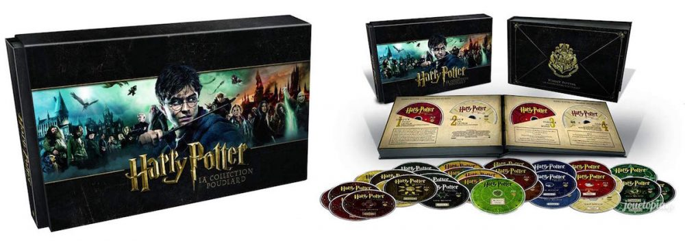 L'édition Collection Poudlard Harry Potter (Blu-Ray / DVD)