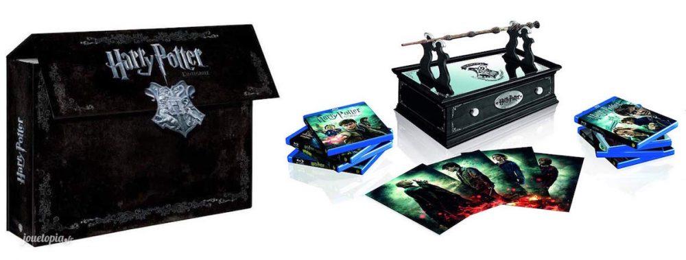 2 premières éditions intégrales des 8 films Harry Potter