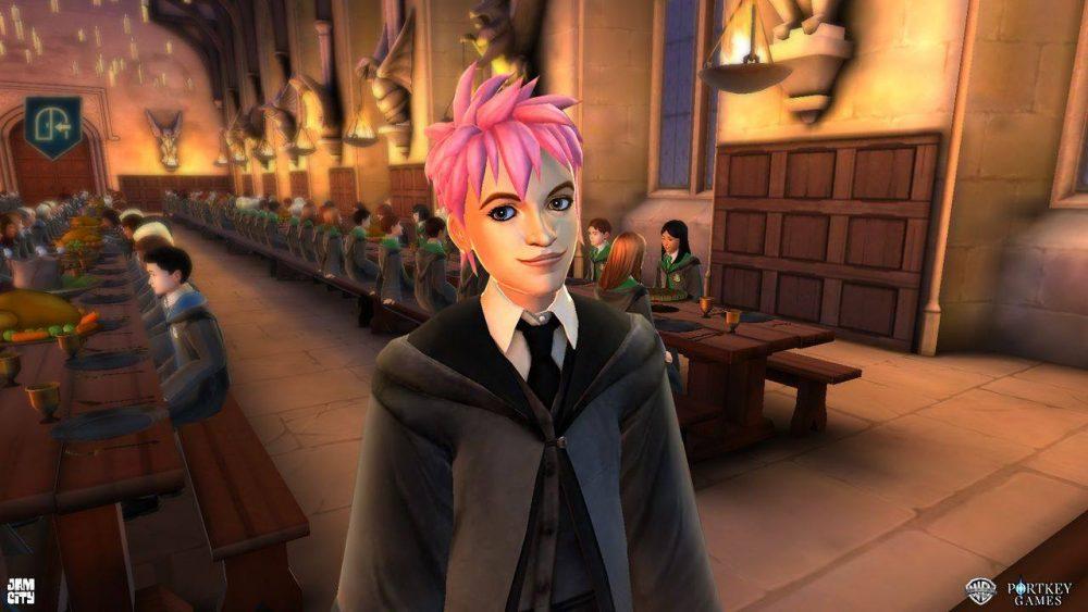 Harry Potter Hogwarts Mystery : Sorcière Pink