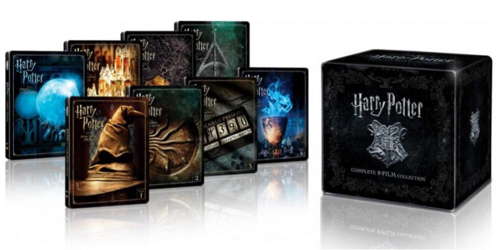 Coffret Blu-Ray SteelBook Harry Potter 8 films