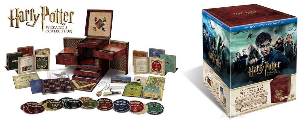Edition Wizard's Collection des 8 films Harry Potter
