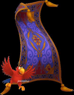 Iago et Tapis (Aladdin - Disney)