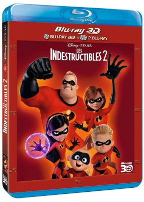 Les Indestructibles 2 (Blu-Ray Collector 3D)