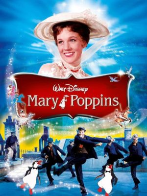 Mary Poppins (affiche DVD)