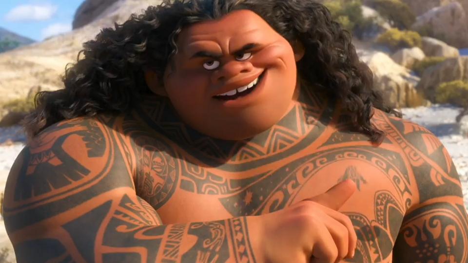 Maui, demi-Dieu (Vaiana - Disney)