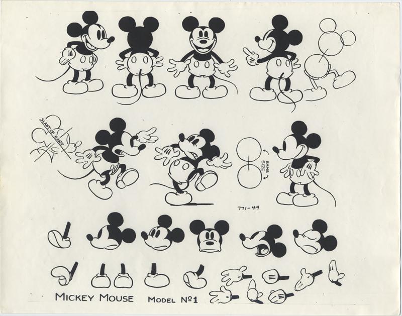Mickey Mouse en 1930