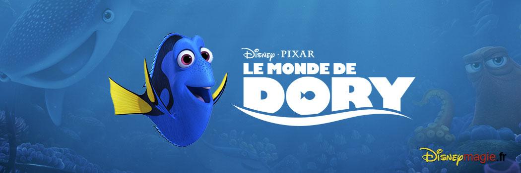 Le Monde de Dory (Disney-Pixar)