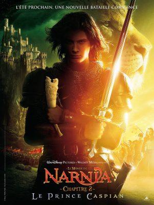Le Monde de Narnia 2 : Prince Caspian (affiche)