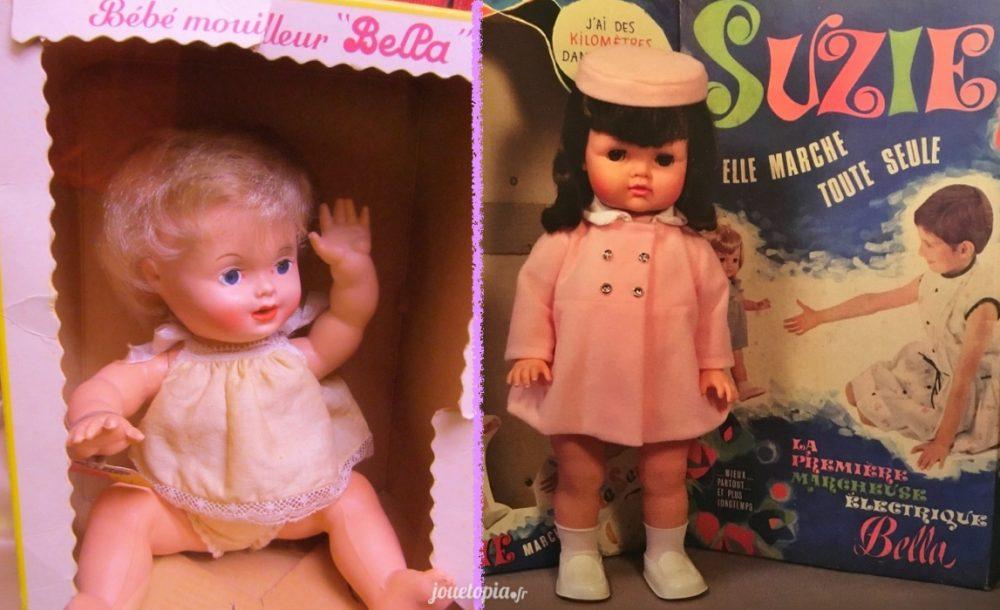 Poupées Bella : Papouf et Suzie