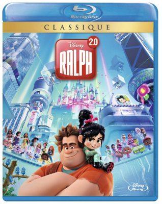 Blu-Ray Disney du film Ralph 2.0