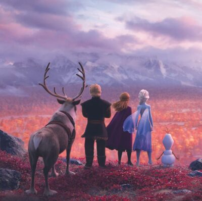 Les personages de La Reine des Neiges 2