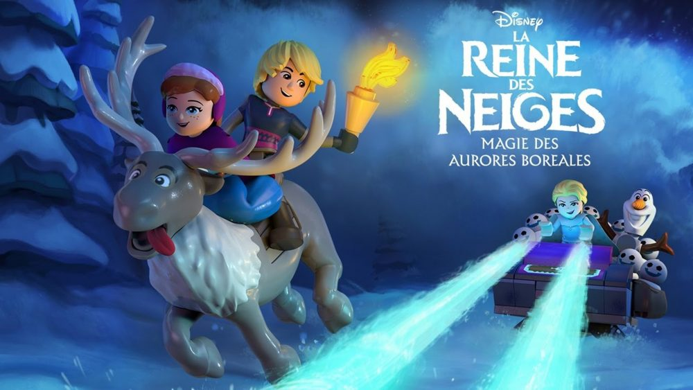 La Reine des Neiges : Magie des aurores boréales (Disney / Lego)