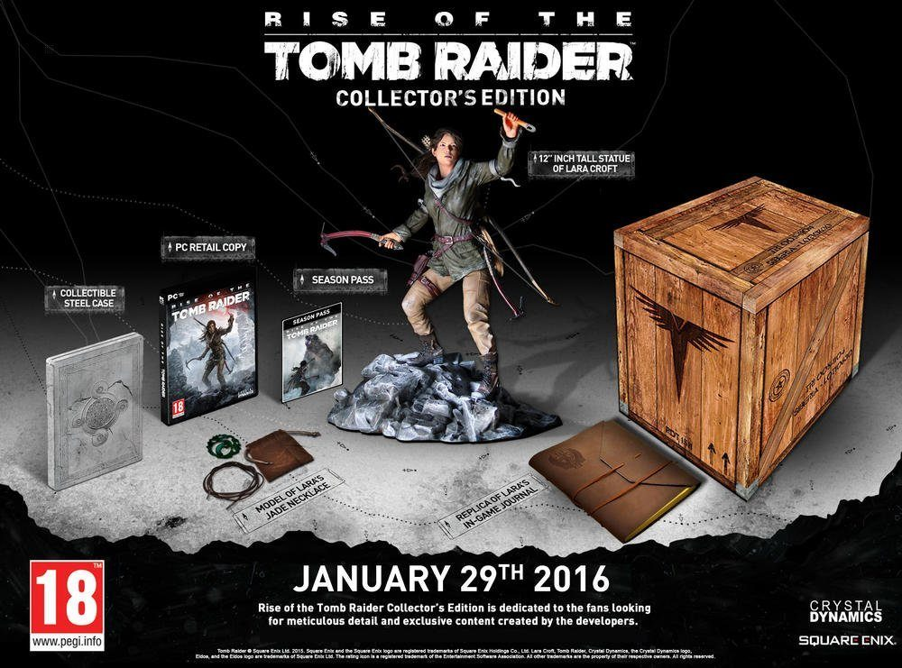Rise of Tomb Raider : Collector PC