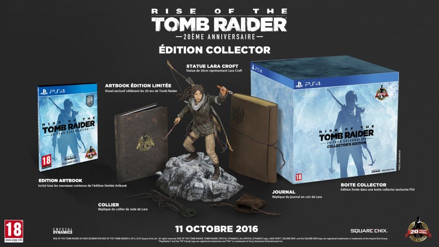 Rise of Tomb Raider - Collector PS4