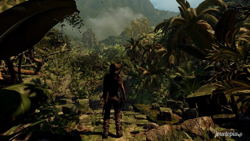 Lara Croft dans la jungle péruvienne