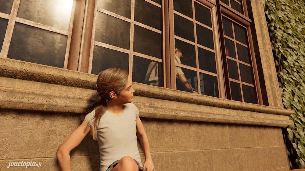 Lara Croft à 9 ans