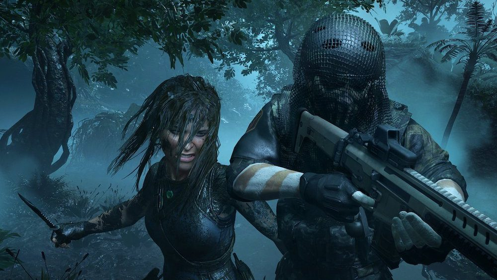 Lara Croft la prédatrice