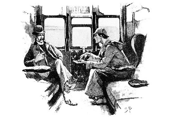 Sherlock Holmes et Dr Watson