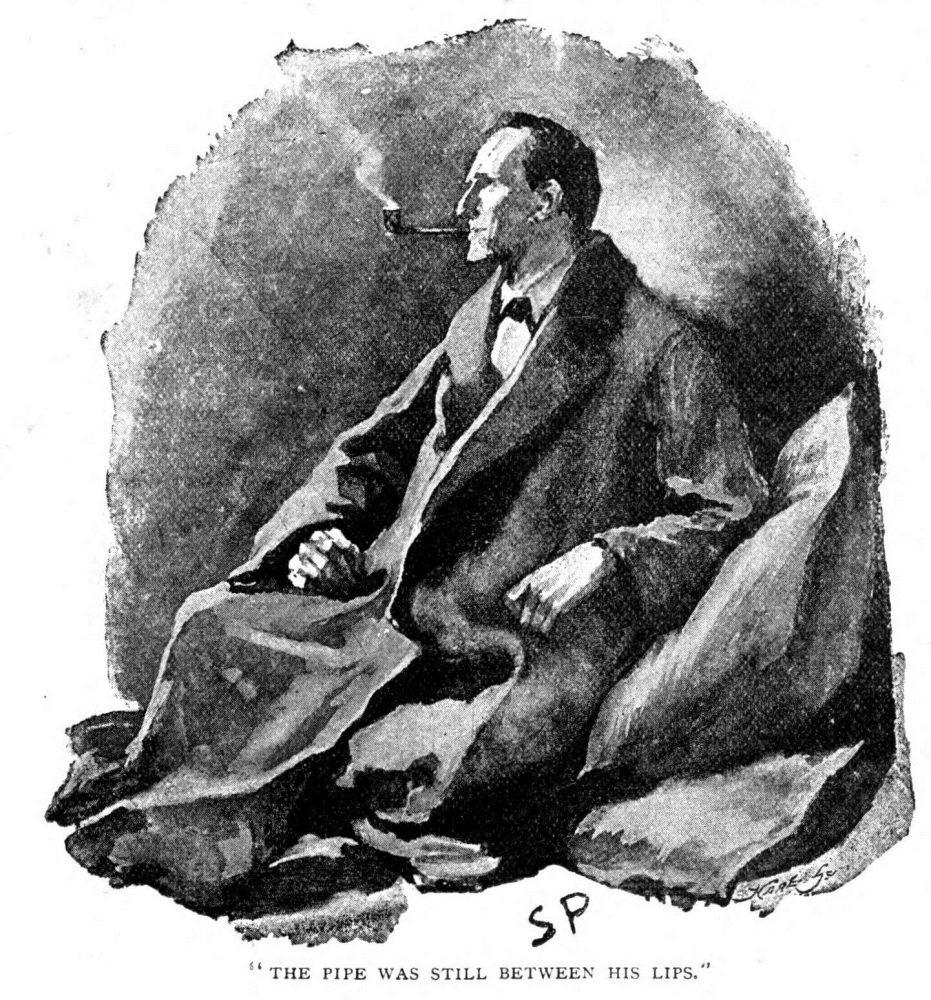 illustration de Sherlock Holmes