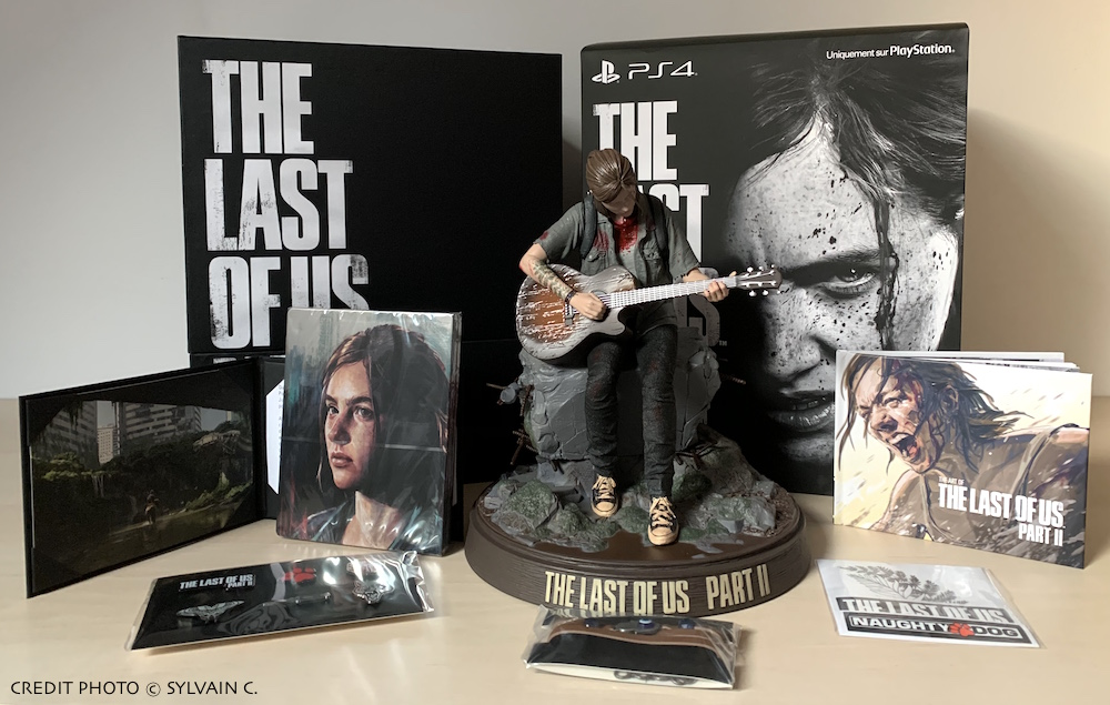 Contenu de l'édition collector The Last of US 2