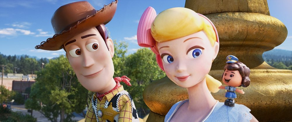 Toy Story 4 Woody Bo et Trixie