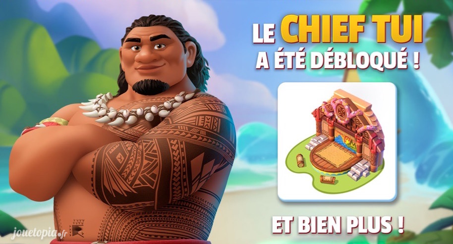 Tui Chef du Village et père de Vaiana
