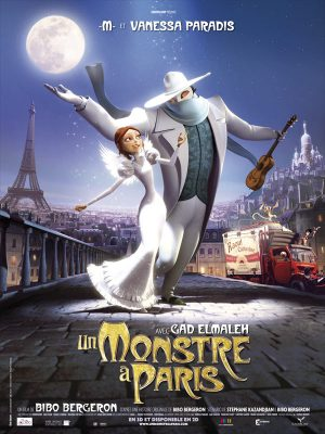 Un Monstre à Paris (affiche FR)