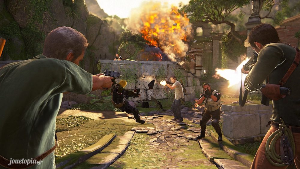 Action et gameplay du jeu Uncharted™ 4 : A Thief's End