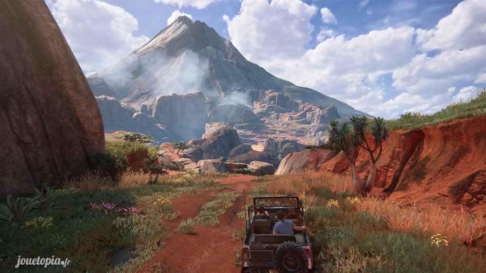 Nathan, Sam et Sully dans Uncharted™ 4 : A Thief's End