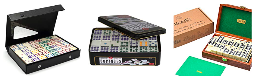 Variantes Domino Double 9 et 12