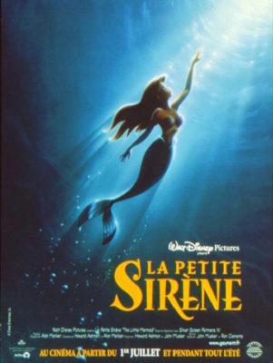 La Petite Sirène (affiche FR)
