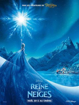 La Reine des Neiges (affiche FR Disney)