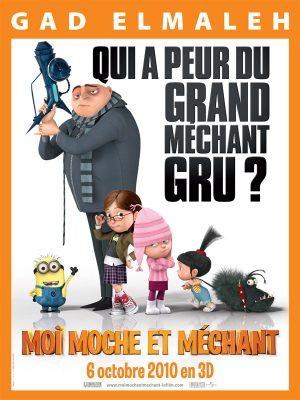 Affiche : Moi, Moche et Méchant